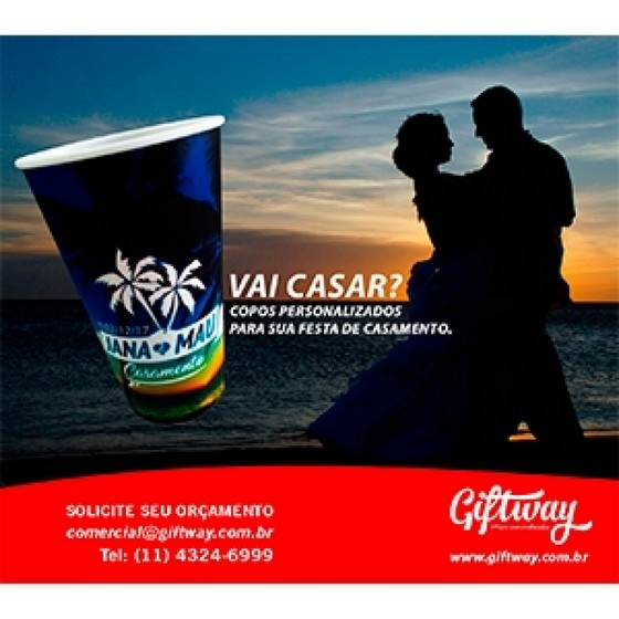 Comprar Brinde Personalizado Casamento Goiana - Brinde Personalizado Empresa