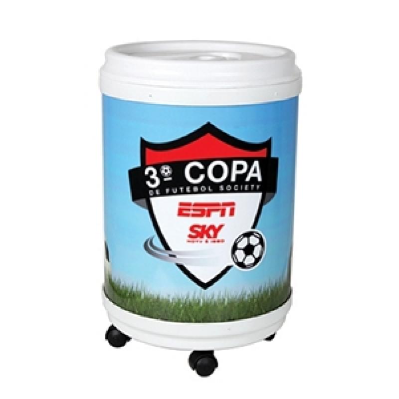 Comprar Cooler Personalizado 24 Latas Pernambuco - Cooler Redondo Personalizado