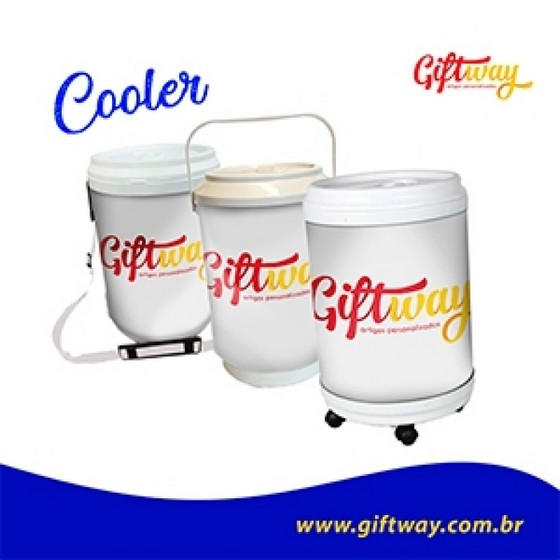 Comprar Cooler Personalizado 6 Latas Maravilha em Santa Catarina - Cooler Redondo Personalizado