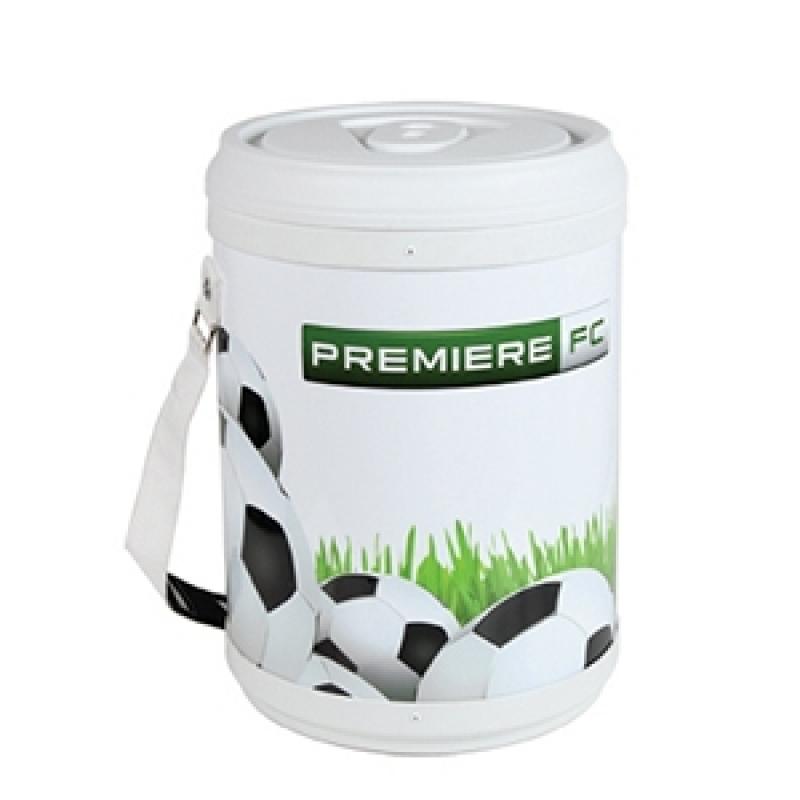 Comprar Cooler Personalizado Redondo Campo Grande - Cooler com Rodinha Personalizado