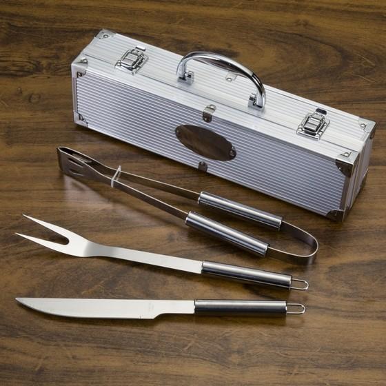 Comprar Kit Churrasco de Luxo Varginha - Kit de Churrasco com Maleta