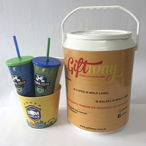 Cooler Personalizado 6 Latas Preço Mesquita - Cooler Redondo Personalizado