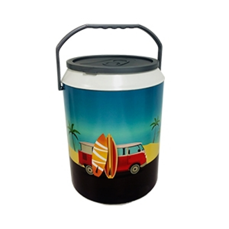 Cooler Personalizado 6 Latas CAIOBÁ - Cooler Personalizado com Rodinhas