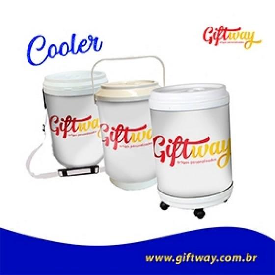 Cooler Personalizado Promocional Mineiros - Cooler Personalizado com Rodinhas