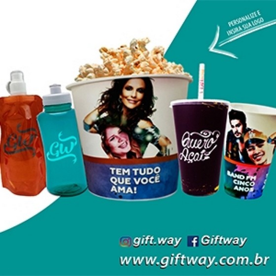 Squeeze Personalizado Joinville - Squeeze Feminina