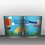 balde para pipoca 1 litro valor Belo Horizonte