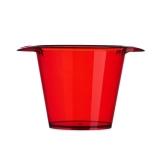 balde para gelo transparente