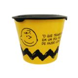 balde para pipoca com tampa