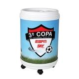 comprar cooler com rodinha personalizado Santarém