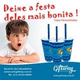 onde comprar copo personalizado aniversário infantil Porto Seguro