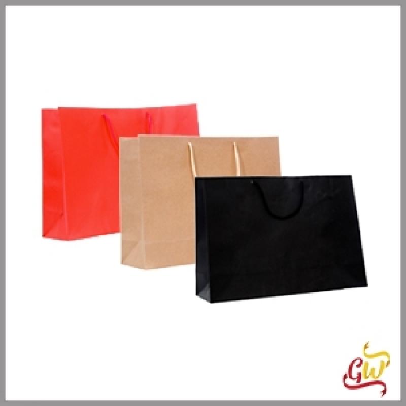 Venda de Sacolas Kraft Personalizadas para Brinde CAIOBÁ - Sacolas Personalizadas para Lojas